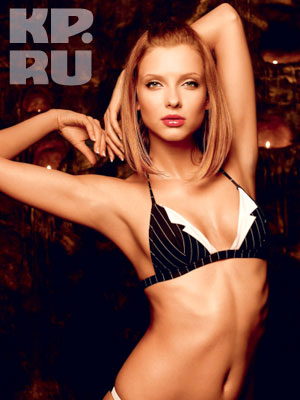 Là người mẫu, Svetlana cũng từng chụp ảnh bikini hoặc bán khỏa thân cho các tạp chí đàn ông. Ảnh: Maxim.